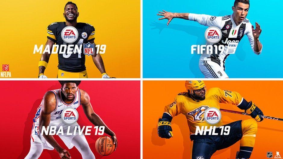 FIFA 19, NBA 19, NHL 19 and MADDEN 19 BUNDLE - £49.99 @ PSN