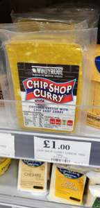 Chip Shop Curry Cheddar Cheese - Home Bargains - £1