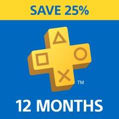 PlayStation Plus 25% off 12 Month Membership - £17.53 from PlayStation PSN Store Turkey