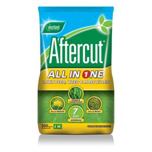 Aftercut Lawn Feed All in One Bag - 500m2 - £12 at Homebase (Free C&C)