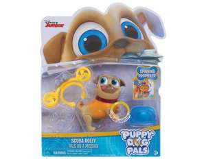 Puppy Dog Pals Light Up Pals - Rolly with Scuba @ Amazon - £6.90 Prime / £11.39 Non Prime