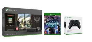 Xbox One X 1TB Console - Tom Clancy's The Division 2 Bundle + Crackdown 3 + Official Xbox Wireless Controller - Black £429.99 @ Amazon