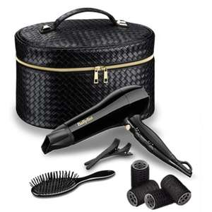 BABYLISS  GIFT SET STYLING HAIR DRYER ACCESSORY & VANITY CASE Was £49.99, Now £27.00  Delivered @ eBay  - 247bid_online