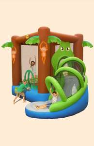 Action Air Crocodile Airflow Inflatable Bouncy Castle And Slide Play Area - £169 @ eBay / Tesco