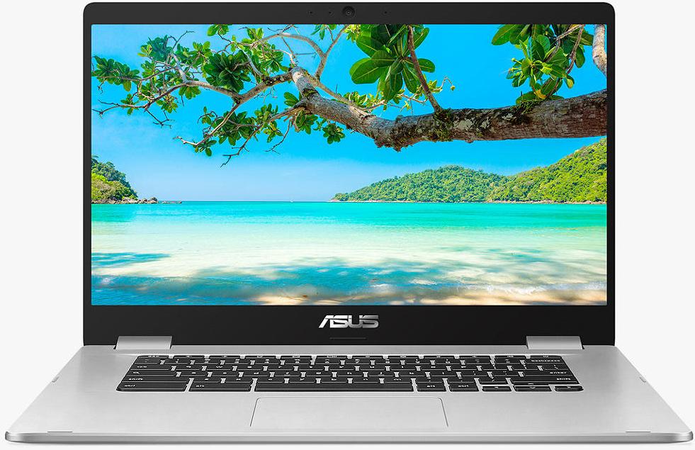 "ASUS Chromebook C523, Intel Pentium Processor, 4GB RAM, 64GB eMMC, 15.6"" Full HD, Silver Metal (Touchscreen) £299.99 @ John Lewis & Partners"
