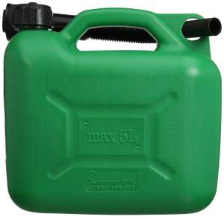 Silverline Plastic Fuel Can - 5 L, Green £3.31 + £4.49 delivery (Non Prime) @ Amazon