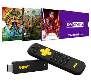 *CLEARANCE* NOW TV Stick with 2 Months Sky Cinema and 1 Day Sport Pass @ Argos Free C+C £16.99