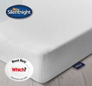 Silentnight King Size 3 Zone Memory Foam Rolled Mattres   Medium. £159.99 delivered @ Amazon Deal of the day.