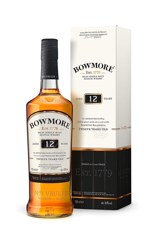 Bowmore 12 Islay single malt at Amazon for £25