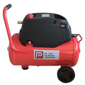 Performance Power Air Compressor 24L at B&Q for £60