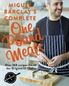 Miguel Barclay's Complete £1 Meals Book instore at WH Smiths