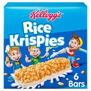 Kellogs Rice Krispies bars + £60 MERLIN ATTRACTIONS voucher at Tesco for 99p