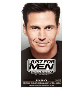 Just For Men Hair Dye - ONLY 1.59 each or Buy 2 Get 1 Free (£1.06 each) instore @ Boots