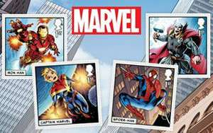 Marvel + Royal Mail Collectables £12.15 + £1.45 delivery at Royal Mail shop