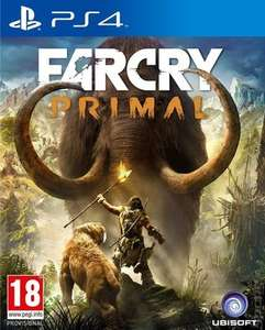 Far Cry Primal PS4 (pre-owned) £6.83 using code Delivered @ MusicMagpie