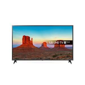 LG 49UK6300PLB 49-Inch UHD 4K HDR Smart LED TV with Freeview Play - Black (2018 Model) at Amazon £349