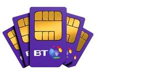 BT Broadband customers get £5 off a month for sim deals - from £8/12mths