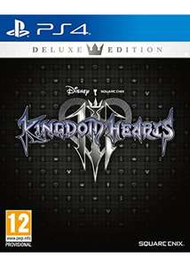 Kingdom Hearts 3 Deluxe Edition (PS4) £49.85 @ Base