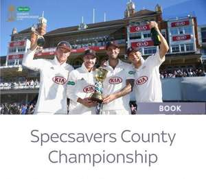 Free tickets to County Cricket for Sky VIP customers