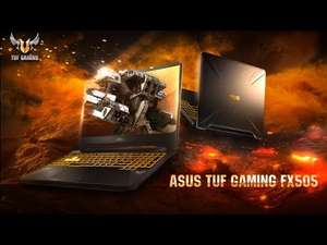 """ASUS 15"""" FX505DY AMD Ryzen 5 Radeon RX560X SSHD TUF Gaming Laptop at Scan for £599.99"""