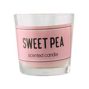 2oz Scented Candles in Glass Jar 59p / 2 for £1 @ Poundstretcher - Also 18 oz Candles were £3.99 now £2.99.