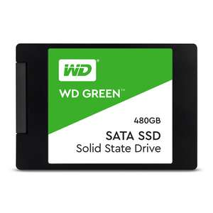 """WD Green 480GB 2.5"""" 7mm Solid State Drive £44.99 delivered @ Ebuyer"""