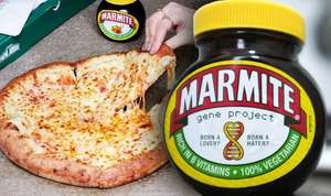 PAPA JOHNS - MARMITE CHEESE STUFFED CRUST - ADD £2.50 - FROM TODAY 25/03