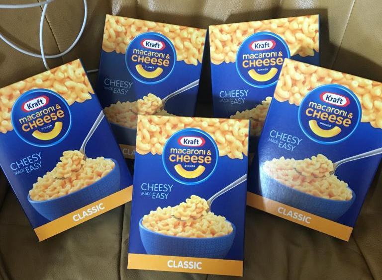 Kraft Macaroni & Cheese 5p a box in date instore @ Poundstretcher