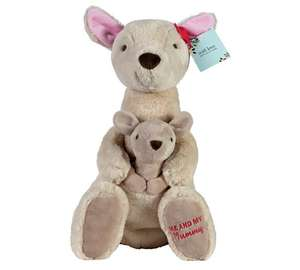 20% off Mothers Day gifts - Me & Mummy Kangaroo was £15 now £12, Mum Cushion was £10 now £8, Gincredible Mum glass was £6 now £4.80 @ Argos