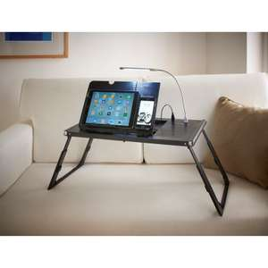 E - Charge Lap Table Built in Power Bank Now £24.99 @ B&M