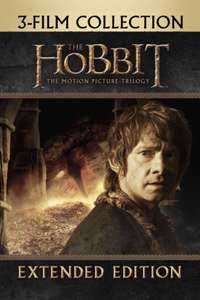 The Hobbit: Extended Edition Trilogy (iTunes) - £14.99 (13.94 after TCB)