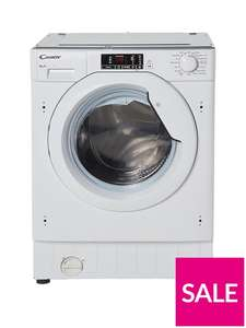Candy CBWM816S8kgLoad 1600 Spin Integrated Washing Machine £349.99 Very