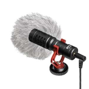 BOYA BY-MM1 Mini Cardioid Microphone w/shield and shock mount £14.99 delivered @ Tomtop
