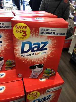 Daz 40 Wash Found Instore @ Savers (Great Yarmouth) With Money Off Vouchers £3.99