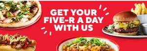 £5 pasta today, £5 Pizza on Tuesday, £5 hot dog & fries Wednesday & £5 Burger & fries Thursday - Vegetarian options too @ Frankie & Bennys