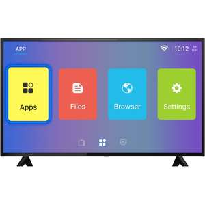 """ElectriQ 50"""" 4K Ultra HD Android Smart HDR LED TV with Freeview HD £279.97 @ Laptops Direct"""