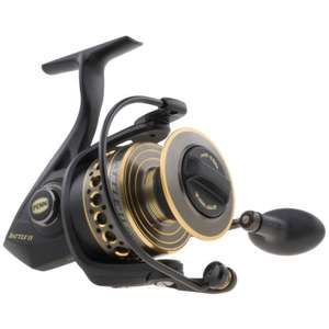 Penn Battle 2 II Spinning Reel 2000 buy 2 save 5% + 10% off code = 2 for £111.13 @ eBay / total-fishing-tackle [Works out £55.57 each]