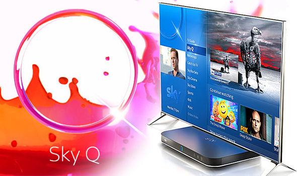Sky Q UHD and broadband deal 18 months at £61pm + £75 setup = £1173