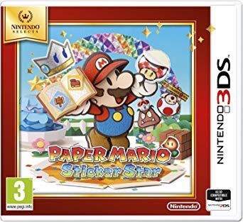 Nintendo Selects - Paper Mario Sticker Star (Nintendo 3DS) - £13.99 (Prime) £16.98 (Non Prime) @ Amazon