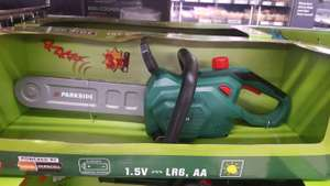Chainsaw £11.99 @ Lidl
