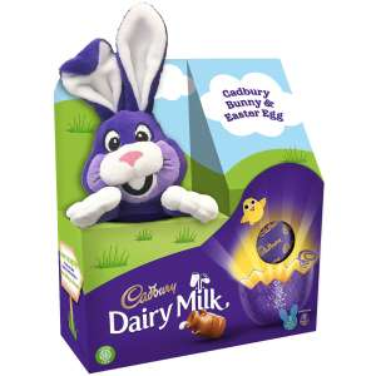 Cadbury Dairy Milk Bunny Easter Egg with Plush Bunny Toy £4.50 @ Sainsburys
