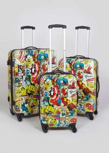 Marvel Comics Suitcase : Small £20, Medium £25, Large £30 Each ( Was £45 - £55 Each ) @ Matalan ( Free C&C )