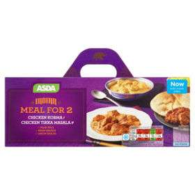 Indian / Chinese meal for 2 was £7 now £4.75 includes 2 x mains, rice, onion bhajis or spring rolls & naan breads or prawn crackers @ Asda