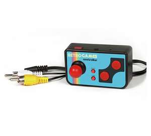 Retro TV Games Console - Includes 200 game Library Was £12.99, Now £4.99 free C&C @ Ryman Stores