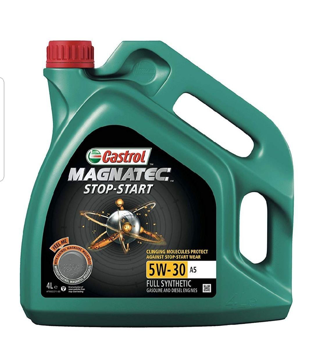 Castrol 15990F Magnatec Stop-Start Engine Oil 5W-30 A5, 4L £17 + £4.49 delivery (Non Prime) @ Amazon
