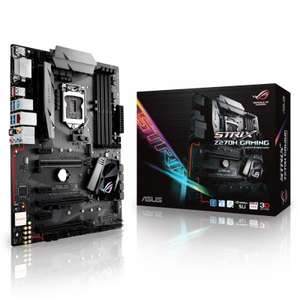 Asus Intel ROG STRIX Z270H GAMING LGA 1151 ATX Motherboard £69.96 Ebuyer