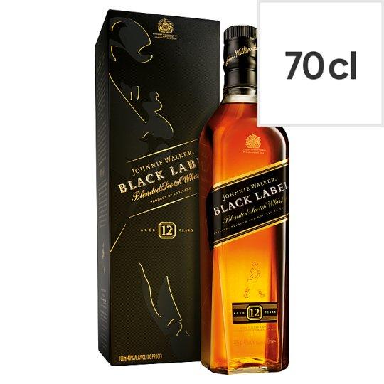 Johnnie Walker Black Label Whisky 70Cl - Fruity £22 Tesco