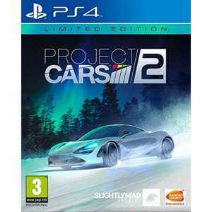 Project Cars 2 - Limited Edition PS4 £14.95 delivered @ The Game collection