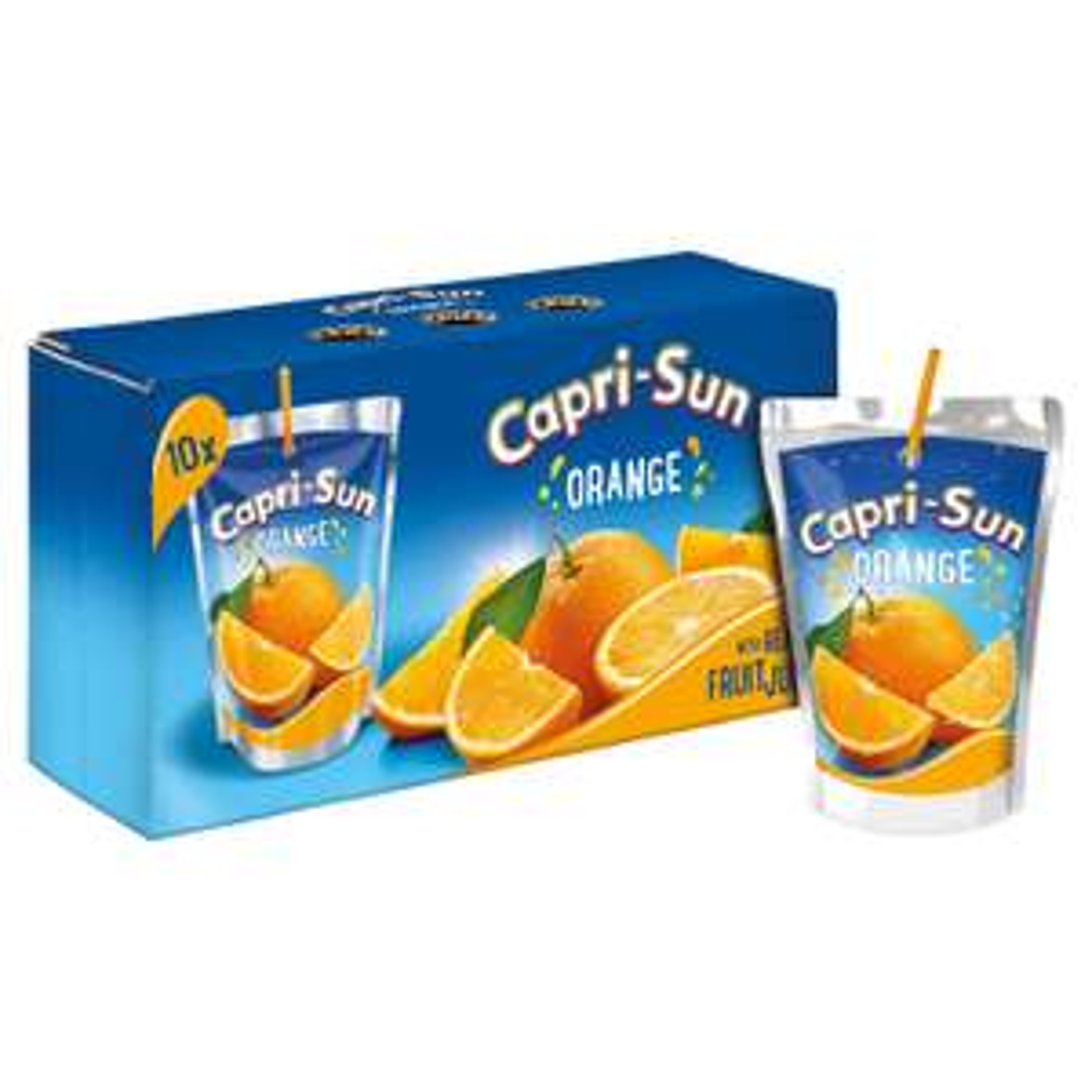 Iceland 7 Day Deal Capri-Sun Juice Drink Orange 10 x 200ml £1.89 ( starts 27/03/19)