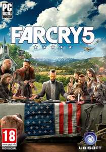 Far Cry 5 PC Uplay £12.50 @ Gamesplanet
